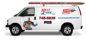 Heat & Cool Service Van